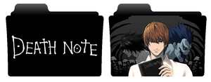Death Note folder icons by NonStopSarah