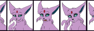Free Commission - Isaac Reaction Set by MiaMaha