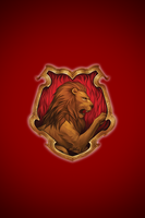 Gryffindor iPhone wallpaper 1 by technoKyle