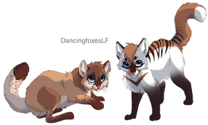 NovapearlXPepperpounce kits by DancingfoxesLF