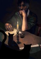 Utterson and the testament by LorenzoMastroianni