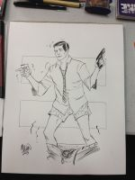 Sterling Archer by kevinmellon