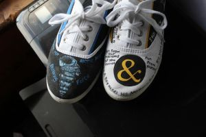 Of Mice and Men shoes by XxSierraRose