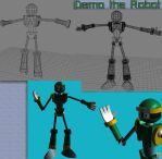Demo the Robot 3D by Jingleboy