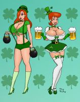 St. Patrick's Day commission by rocketdave