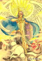 St.Michael the Archangel by Dark-kanita