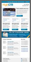 High CTR Newsletter Template by xstortionist