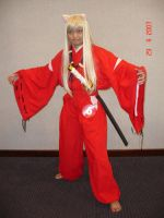 Inuyasha Costume by seawaterwitch