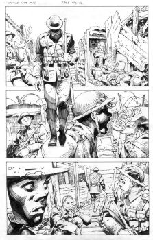 World War One: A Graphic novel by lalitkr007