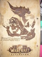 Firemage Pyrography by ggeorgiev92
