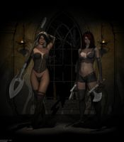 The Sisters Of Shadow by QuanticDementia
