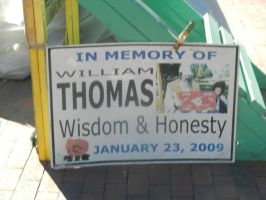 William Thomas plaque by Flaherty56