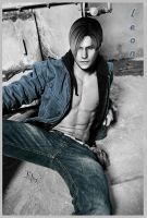 leon_sexy in denim by cyber-rayne