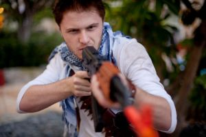 Uncharted Cosplay - Lock n' Load by StormWolf92