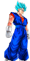 Vegetto Super Saiyan Blue by alexiscabo1