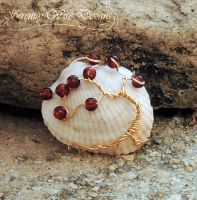 Sea Shell Tree of Life by SerenityWireDesigns