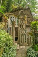Fantasy Jungle Castle Stock by little-spacey