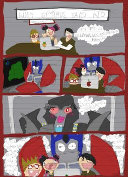 Why Optimus said No by iBeewitched