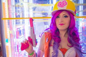 Arcade Miss Fortune cosplay 5 by spacechocolates