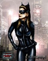 Catwoman by Steven-H-Garcia