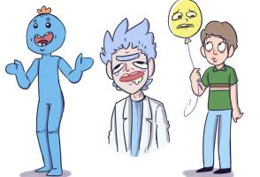 Mr Meeseeks by nyanPodcat