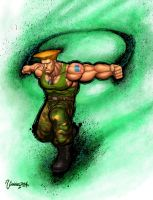 Guile Ultra Street Fighter IV by viniciusmt2007
