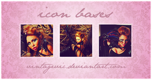 Miley Cyrus Icon Bases by vintagevic