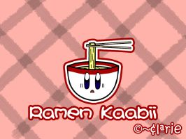 Ramen Kaabii by clariecandy