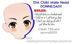 TDA Chibi Male Edit DL!! by jazmia2000