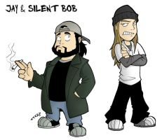 Jay and Silent Bob by DarkTod