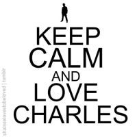 Keep calm and love Charles by Ashley44598X