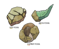 Naisu Region Fossils by pokeluka