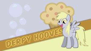 Derpy Hooves Wallpaper by Pappkarton