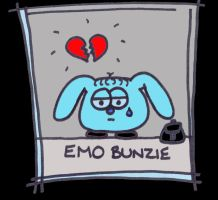 Emo Bunzie by BlindedVisions