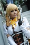 Tomoe Mami cosplay by Chrome-sensei