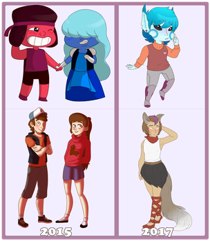 Style comparison thing by sonnio