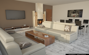 Living room 2013 v2 by slographic