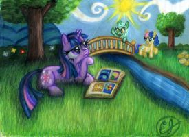 Where It All Began by easeldoodle