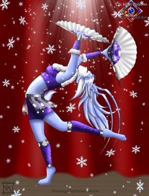 Snow's Dance by BloodAngel28