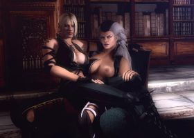 Sonya And Sindel by Rastifan