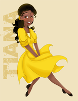 Yellow Tiana 2.0 by Pitahaya