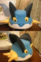 Swampert Fleece Hat by Dionashi