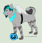Jordan is ready for halloween by ToriFlame