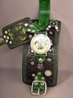 Automatic watch - RadioActive - by IsilWorkshop