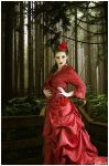 Little RED Riding  Hood... by viaviolet