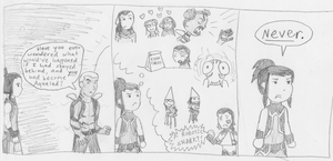 Aqualad comic by eightcrows