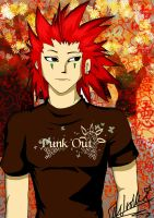 Axel's Day Off by izzycool91