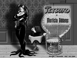 Tetsuko as 'Morticia Addams' by DavidCMatthews