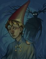 Over the Garden Wall print by aurorablake