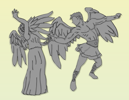 The Weeping Angels by 3mptylord